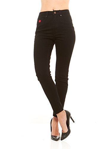 Red Jeans Women's Casual High Rise Stretchy Denim - Hairstyle Pinterest