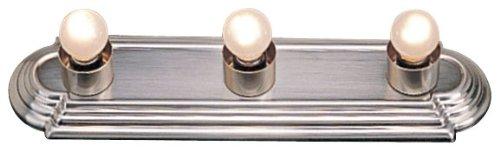 Livex Lighting 1143-91 Basics 3-Light Bath Light, Brushed Nickel