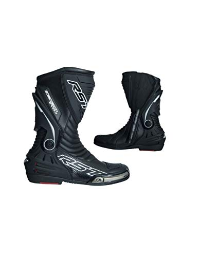 Rst Motorcycle - RST 2101 TracTech Evo III Sport CE Unisex Motorcycle Boots - Black 8 42