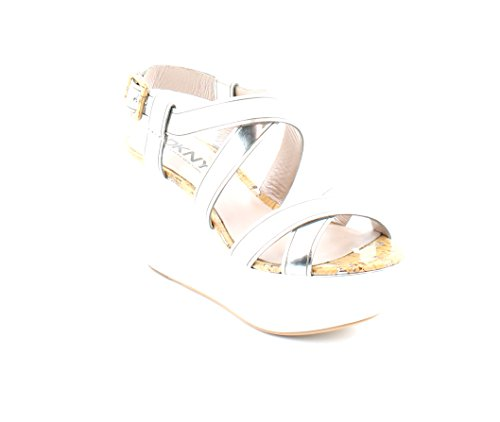 DKNY Haydee Women's Sandals silver Size 6.5 M