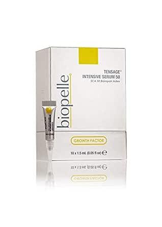 biopelle Tensage Intensive Growth Factor Repair Serum 50, 10 count