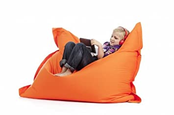 Pouf orange Beanbag M SIT ON IT: Amazon.fr: Cuisine & Maison