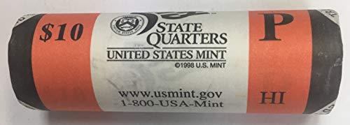 - 2008 P Hawaii State Quarter Roll US Mint BU