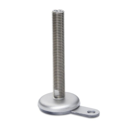 J.W. Winco 12N125PNN/A Series GN 340.6 Stainless Steel Le...