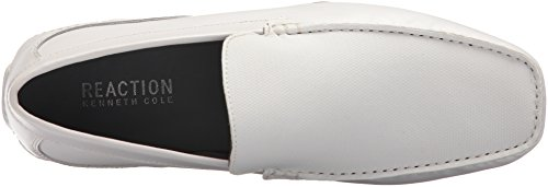 Kenneth Cole Reazione Mens Toast Driver Mocassino Bianco