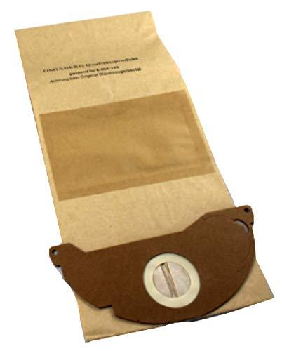 Bolsas para aspiradora Kärcher 6.904 – 143.0. Calidad Filtro Bolsa 10 unidades ventaja Pack, bolsas de filtro de papel para aspiradoras Kärcher 6.904 ...