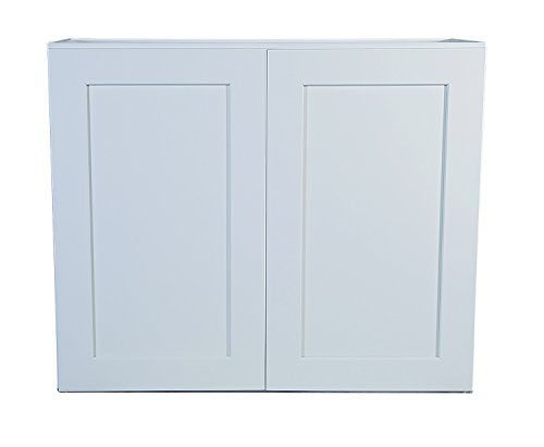 Design House 569137 Brookings Fully Shaker Wall 36x36x12, White Assembled Kitchen Cabinets, 36 in in,