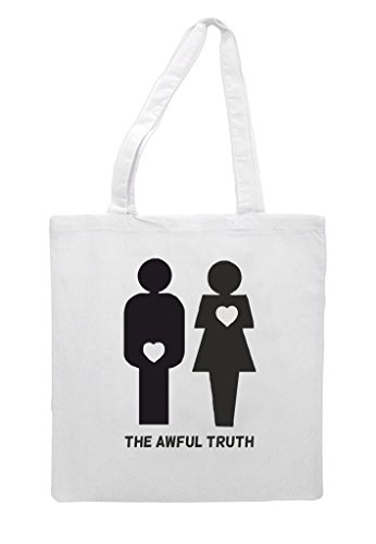 Truth Figures White Bag The Both Awful Gender Tote Heart Shopper vwSxIqFS5n