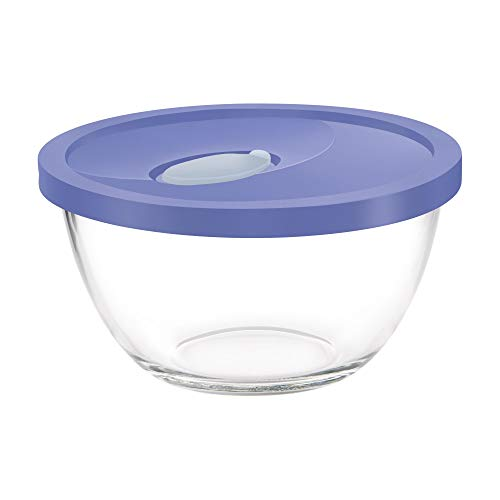 Treo by Milton Mixing Bowl with Flexi Lid, 3500 ml, Blue Price & Reviews