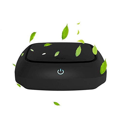 VR-robot Car Air Purifier – Portable Air Freshener Ionizer – Cigarette Smoke Odor Smell Eliminator – Remove Dust, Cigarette Smoke, Food Odor