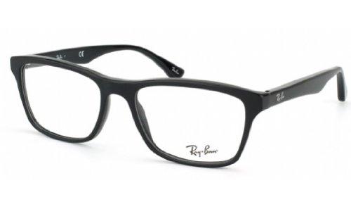 Ray-Ban Mens Rx5279 Square EyeglassesShiny Black53 mm