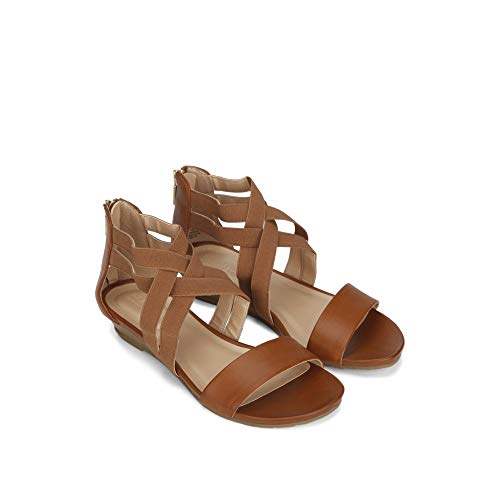 Kenneth Reaction Great Brown Women's Stretch Wedge Sandal Cole wzgqT