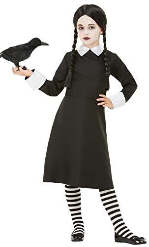 Wednesday Addams Costumes Child - Girls Gothic School Girl Morbid Daughter