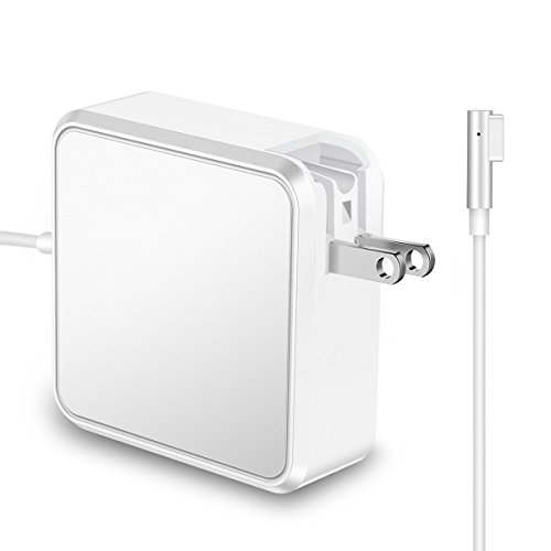 Macbook Pro Charger, 60W L Tip Magsafe Power Adapter Replacement Charger for Apple MacBook Pro 13inch 15 inch