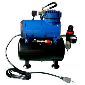 Paasche Airbrush Paasche D3000R 1/5 HP Compressor with Ta...