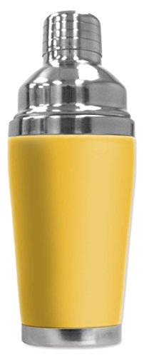 Mugzie Shaker-Yellow Cocktail Shaker with Insulated Wetsu...