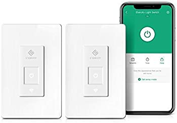 2-Pack Etekcity Smart WiFi Light Switch with Timer