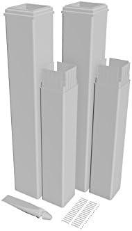 Nueva Inglaterra husillos va80352 Pergola Kit de extensión (2 Pack) Cabezales, Color Blanco: Amazon.es: Jardín