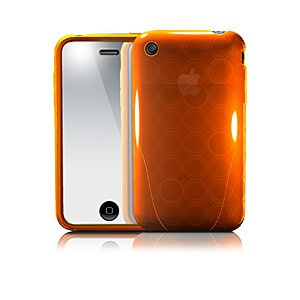 iSkin solo FX for iPhone 3G/Sunset (translucent orange)