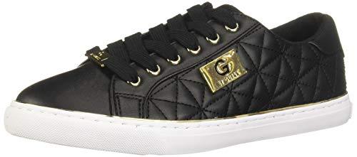GUESS G 218207700009 Zapatillas para Mujer, Black, 23.50