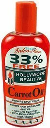 Hollywood Beauty Carrot Oil In Bottle 2 Ounces