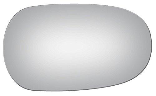 2003-2008 JAGUAR S-TYPE, 2004-2007 VANDEN PLAS, XJ8, XK, XKR, X-TYPE Convex Passenger Side Power Replacement Mirror Glass by Burco