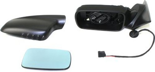 Kool Vue BM47EL Manual Folding Heated OE Replacement Driver Side Mirror for BMW -