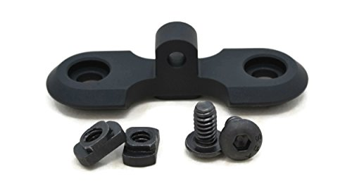 STNGR USA M-Lok Bipod Adapter Mount - Proudly Made In USA - Includes 2 T-Nuts & 2 Screws by STNGR USA