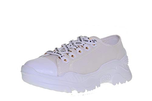 Bianco amp;gold Bassa Donna Gold Scarpe Sneakers Gt728 pYwITqdTx