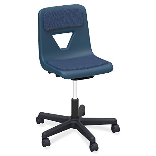 - Lorell 99912 Classroom Adjustable Height Padded Mobile Task Chair, 32.5