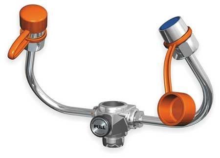 GUARDIAN G1101 Brass EyeSafe-X Faucet-Mounted Eyewash, Adjustable Aerated Outlet Heads, 20 lb.