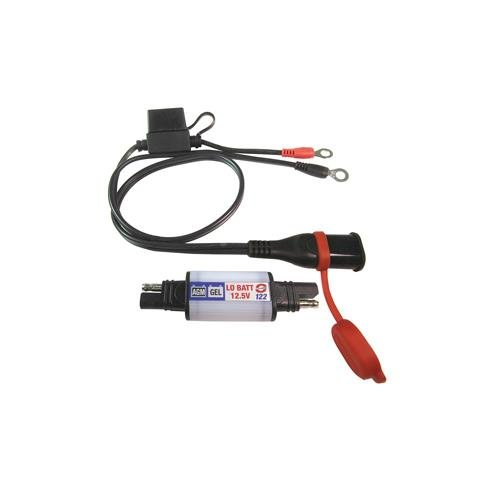 OptiMate LED O-122 - LOW BATTERY warning flasher, hi performance AGM 12V batteries NEW! BATTERY LEAD included Hi New Battery