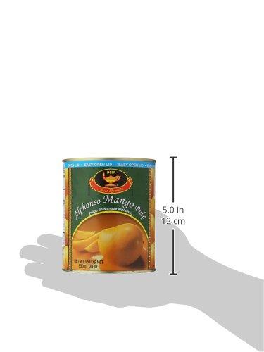 Deep, Alphonso Mango Pulp, 850 Grams(gm) by DEEP (Image #3)