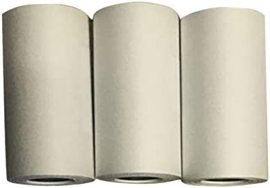 para Impresora de Fotos 3 Rollos de Papel Adhesivo para Impresora Autoadhesivo Peanutaoc