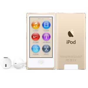 Apple 16GB iPod Nano (Gold) at amazon