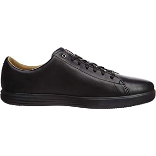 Cole Haan Men's Grand Crosscourt II Sneaker, black leather/black, 7 Medium US