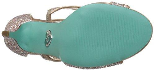 Women's Betsey by Sb Sandal Johnson Glitter Izzy Heeled Nude Blue Cq6txO5C