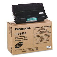 890 Uf Fax (Panasonic Toner Cartridge Compatible with UF890/990 - Black - 12000 Pages)