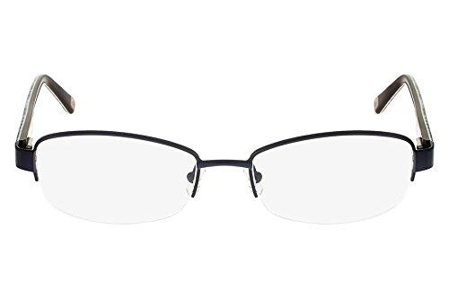 Óculos De Grau Marchon Nyc M-Tammany 412/53 Azul
