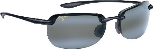 Maui Jim Sandy Beach 408 Sunglasses Color: Black / Grey Lens Size: - Lense Colors Maui Jim
