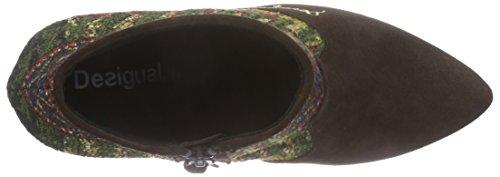 Bottes Doublées Non Givy negro 1 Shoes Desigual Femme Multicolore Courtes 2000 Classics qY0StYw1