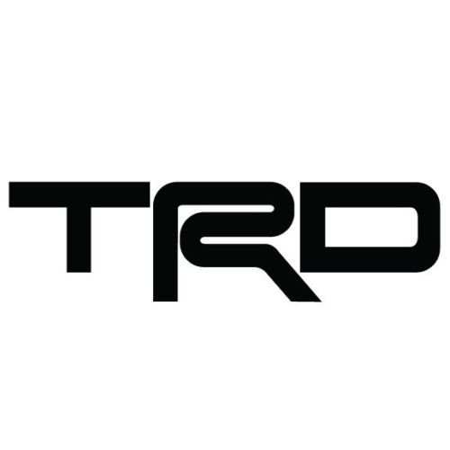 TRD Toyota Racing Development Vinyl Sticker Decal JDM Supra Celica FRS Camry, Die cut vinyl decal for windows, cars, trucks, tool boxes, laptops, MacBook - virtually any hard, smooth surface