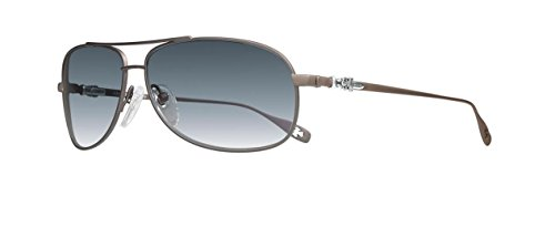Chrome Hearts - Stains II - Sunglasses (Chocolate Brown, Blue - Hearts Sunglasses Chrome Aviator