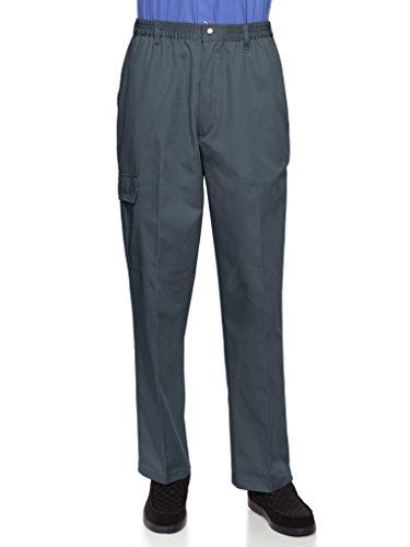 Elastic Waist Casual Pants - 3
