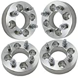 "4 PCS Wheel Spacers 1"" Adapters FOR FORD FESTIVA 4x4.5 4 Lug Bolt Aluminum NEW"