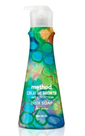 - Method Creative Growth Palm Garden Scented Dish Soap - 18oz