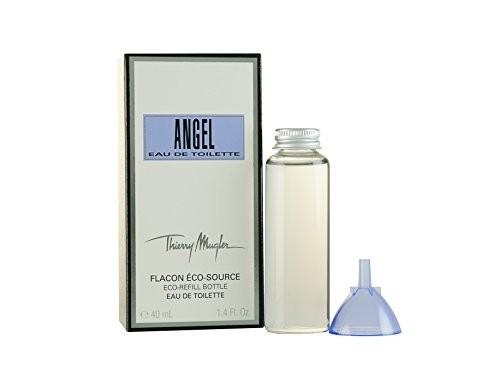 Thierry Mugler Angel Eau de Toilette for Women (Eco Refill Bottle), 1.4 Ounce by Thierry Mugler