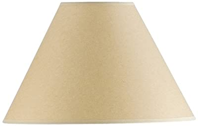 Cal Lighting SH-1074 9-1/4-Inch Side Kraft Paper Shade