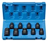 Grey Pneumatic 1319ET Impact Socket Set