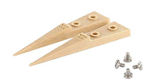 デュモン DUMONT WA シリーズ 木製 先端交換可能 精密ピンセット(10004-B159-SM用) 先端交換チップ B0781ZBLLG